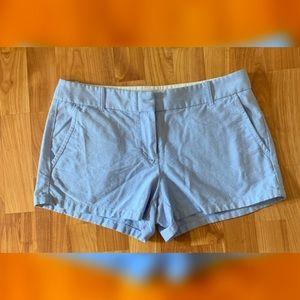J Crew women's light blue shorts